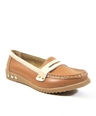 Tan Awesome Loafer