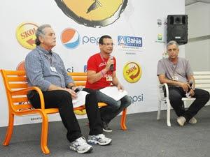 Coletiva final Festival de Verão 2012 (Foto: Divulgação/Agência Edgar de Souza/Eduardo Freire)