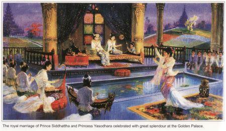Life of Buddha (10)