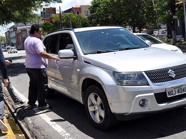 Clebson Bezerril é suspeito de ter participado do esquema criminoso investigado pela operação Candeeiro (Foto: Emanuel Amaral/Tribuna do Norte)