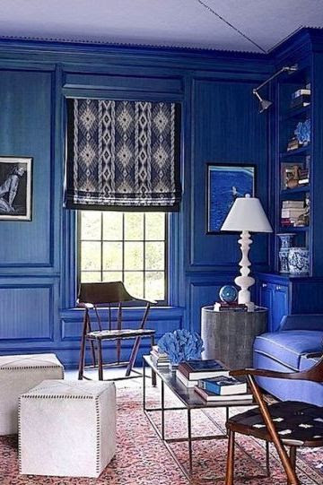 Blue Room Decorating Ideas How To Use Blue Wall Paint