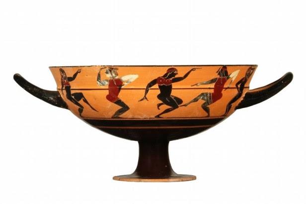 attisches Trinkgefäß, 6. Jhdt. v. Chr.