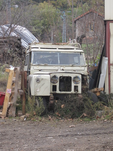 Land Rover a Rià (el Conflent)