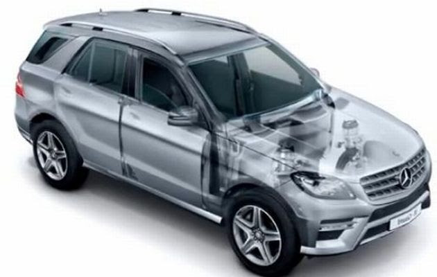 Alabama-made Mercedes-Benz M-Class to get armored version ...