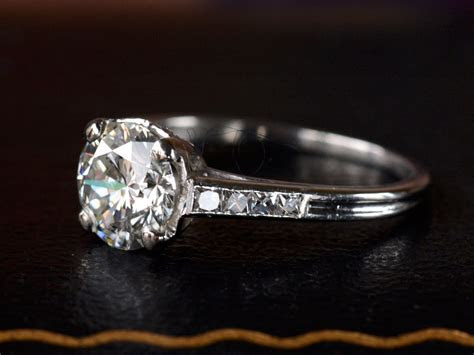 1930s Tiffany & Co. 1.31ct Ring   Erie Basin