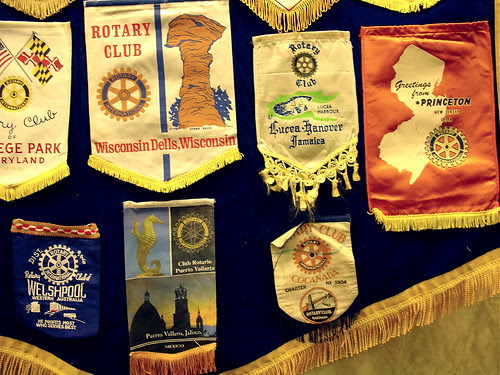 Rotary Club banners
