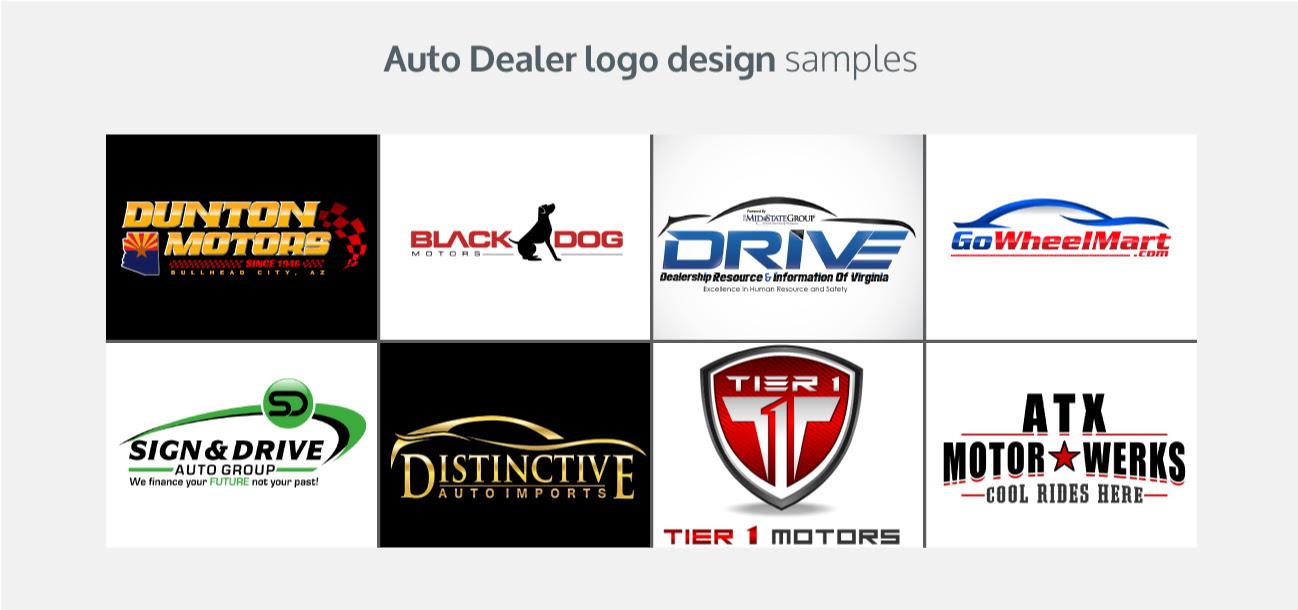 Auto Dealer Logos - LogoDesignGuru.com
