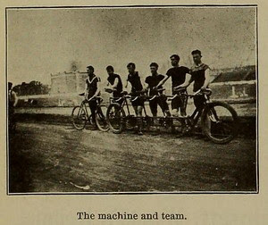 Quint Bicycle with Team