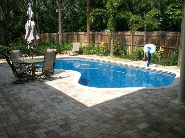 Small Backyard Pool Landscape Ideas