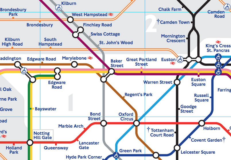 Tfl Tube Map Pdf Tfl Maps Pdf | Map Of West