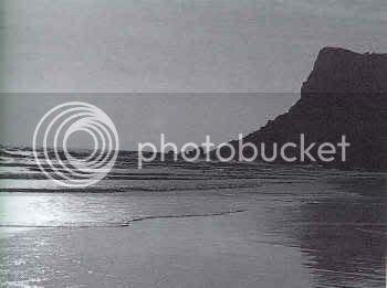 Playa con paisaje