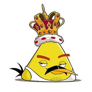 Freddie the Angry Birds é homenagem ao cantor Freddie Mercury feita pela criadora do game (Foto: Divulgação)