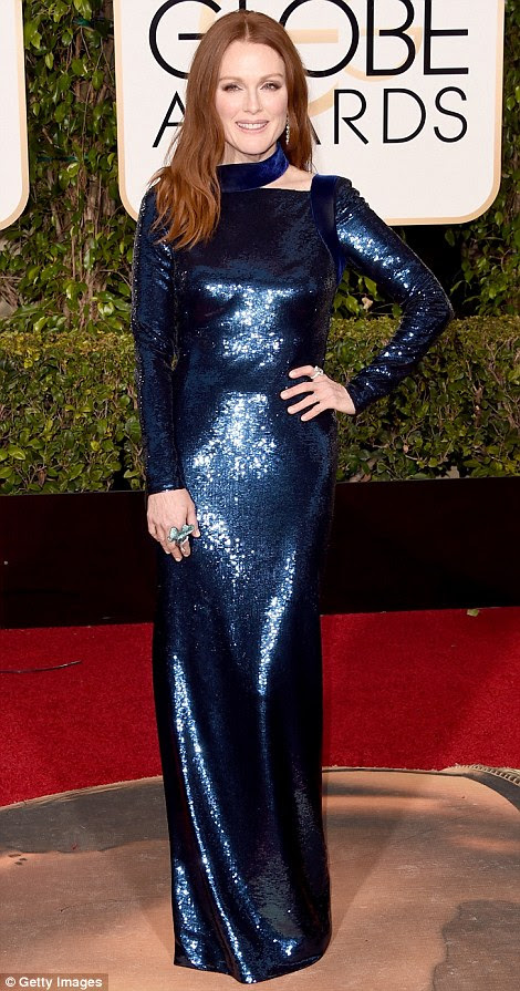 Globurile de aur Julianne Moore in Tom Ford