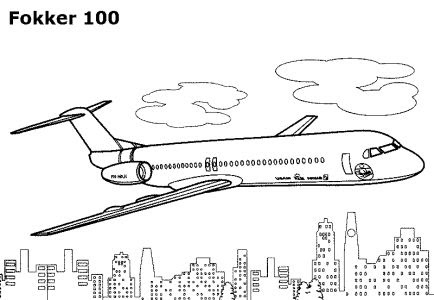 coloring pages airplanes