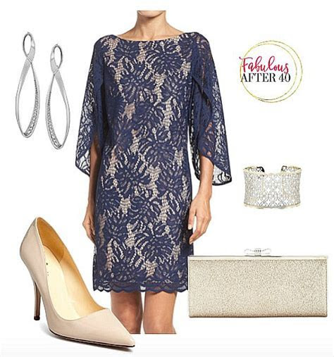 Over 40 Style Question: Can I Wear A Lace Dress to a Wedding?