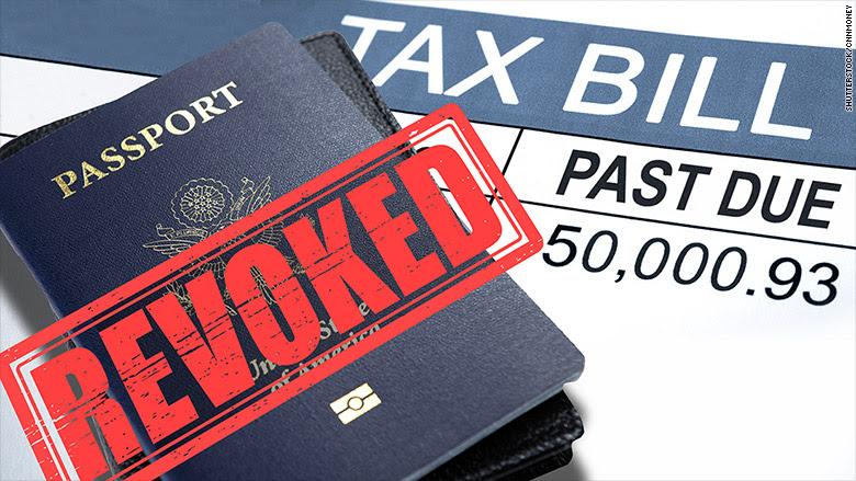 back tax passport