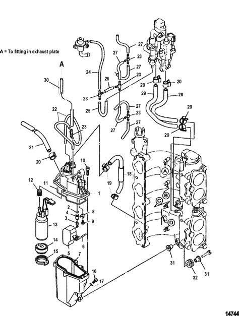 Mercury Marine 115 HP EFI (4-Stroke) Fuel Injection Pump Parts