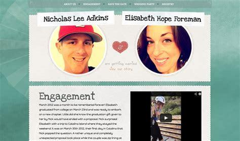 Tips for a Perfect Wedding Website   Designmodo