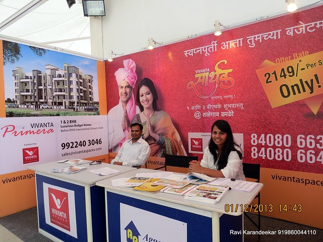 Vivanta Sarthak www.vivantaspaces.com - 94.3 Radio One Pune  'Dream Property Expo' - Pune Property Exhibition - 30th November & 1st December 2013 at Ramee Grand Hotel, Apte Road, Pune