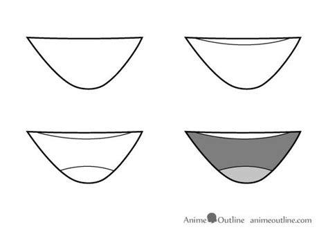 drawing anime mouth step  step mouth   manga