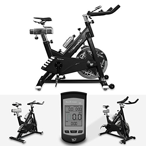 We R Sports RS4000 Indoor Exercise Bike - White
