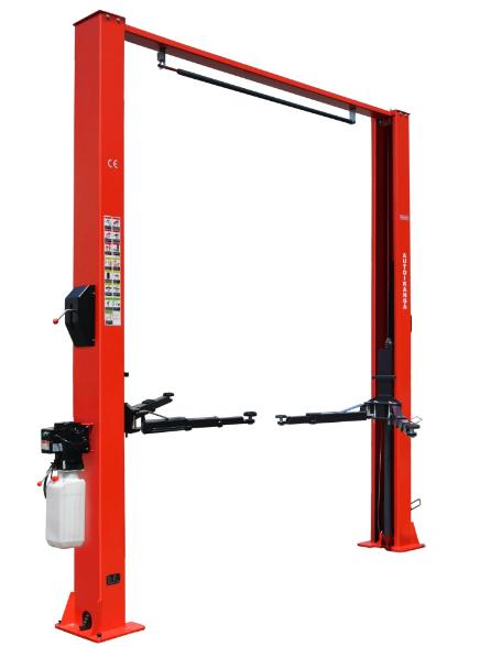 Rh C4500ms 4 5t Manual Car Lift 2 Post Clear Floor Car Lift Auto Lift Shanghai Reach Automotive Equipment Co Ltd