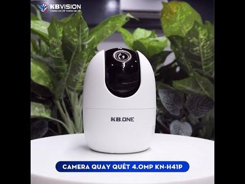 Hướng dẫn kết nối camera KBONE KN-H41P vào điện thoại di động tại nhà