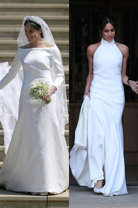 Meghan Markle Second Wedding Dress Stella Mccartney