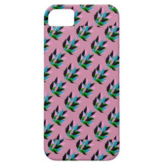 Abstract Flora Design on iPhone 5/5S Case