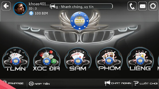 game bim online
