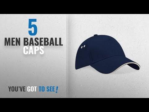 14701143fd1 Major League Baseball  Top 10 Men Baseball Caps  2018   Beechfield Unisex  Ultimate 5 Panel Contrast Baseball Cap With