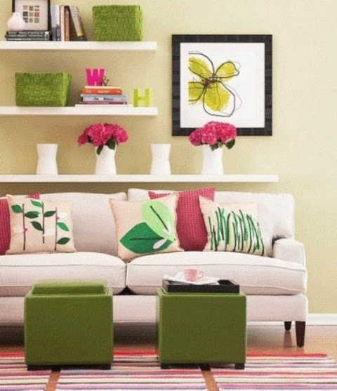 33 Colorful And Airy Spring Living Room Designs   DigsDigs