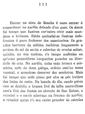 Comezo do texto de Otero Pedrayo