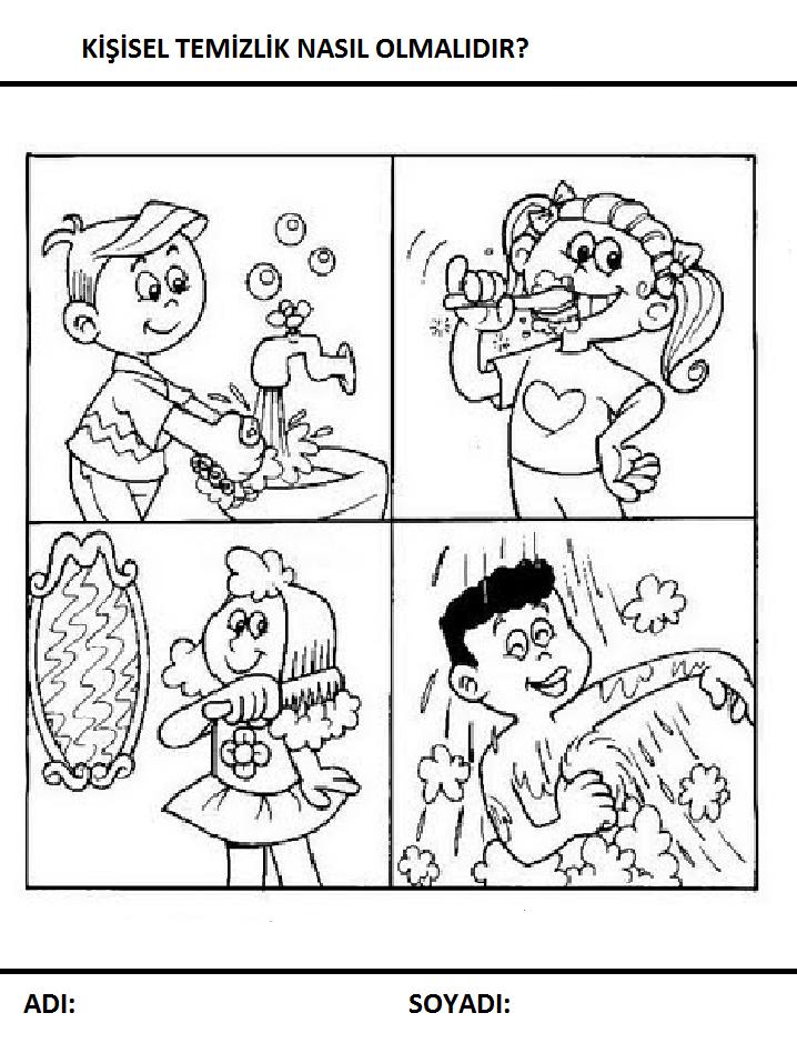 Temizlik Boyama Sayfaları Sayfa 9 9 Arabulokucom