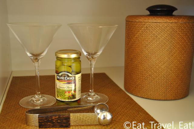 Martini Glasses, Ice