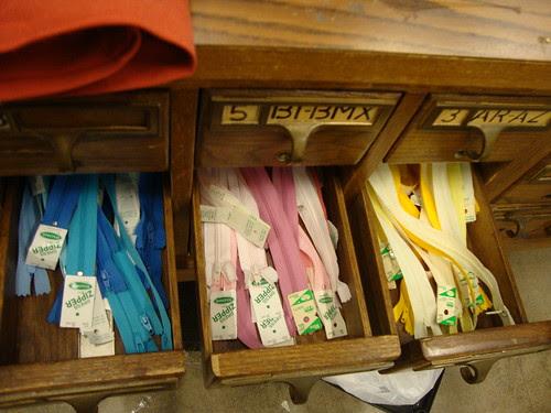 zippers at Silk Road