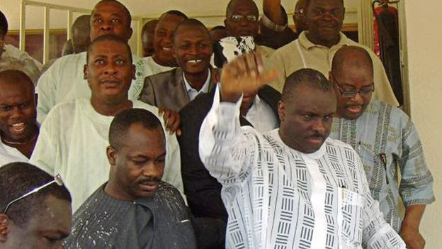 james ibori released from uk jail after serving half his prison time