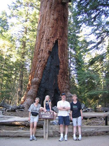 The family, Yosemite 2005