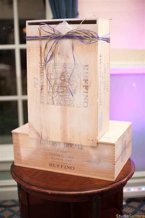 1000  images about Wedding wine boxes, cases and crates on