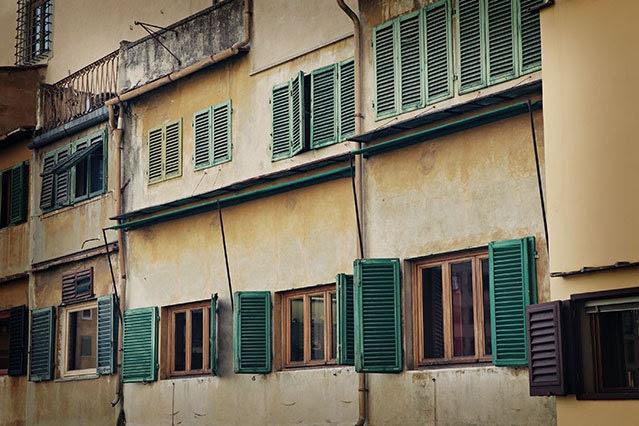 Fine Art Photograph - Chiclet - Italy - Ponte Vecchio Bridge - Original Signed Fine Art Photograph