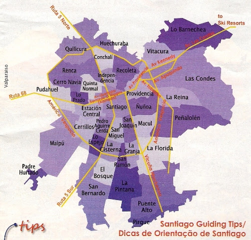 Mapa De Santiago De Chile Minimalist Interior Design