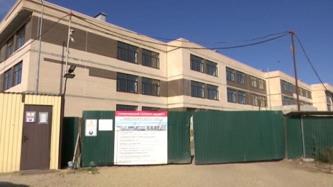 В Краснодаре самую крупную школу ЮФО возводят с опережением графика