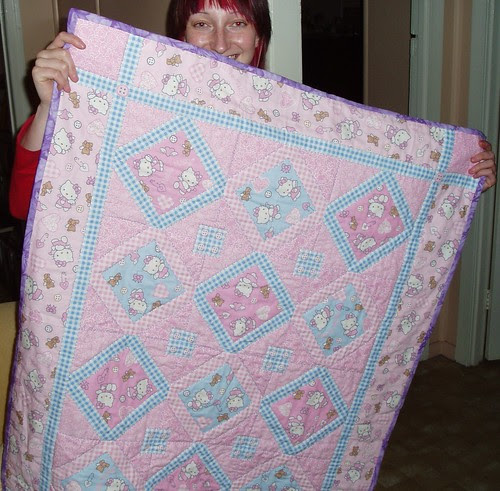 hello kitty quilt