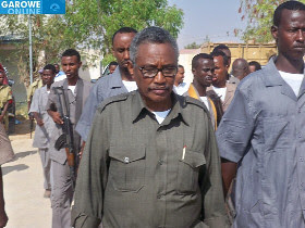 Abdirahman Farole, President of Puntland, formerly a part of Somalia. The breakaway territory is having conflicts with Somaliland, another breakaway area that has declared its independence from people in the south and central regions of the country. by Pan-African News Wire File Photos