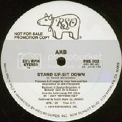 AKB - Stand Up, Sit Down 12''
