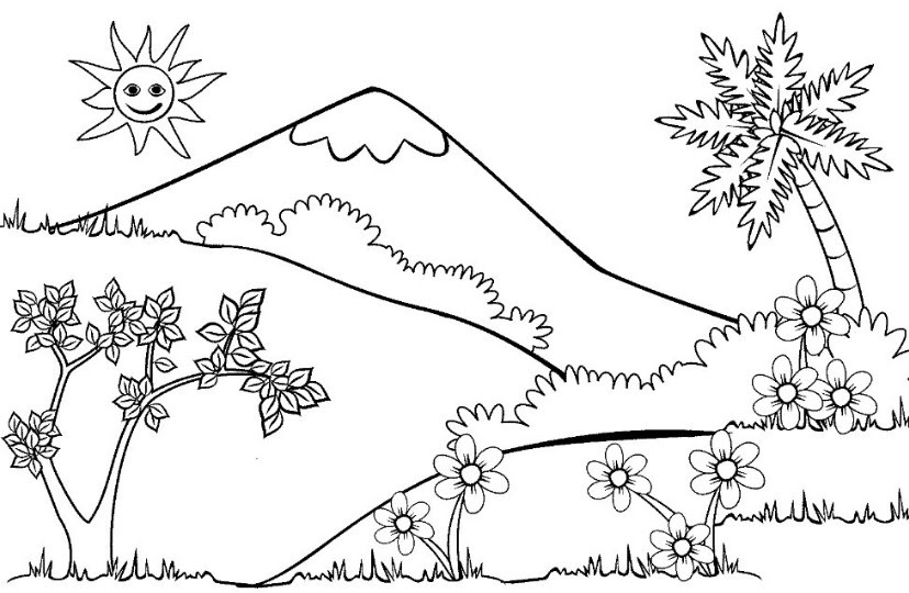Sketsa Gambar Hewan Di Hutan Auto Electrical Wiring Diagram
