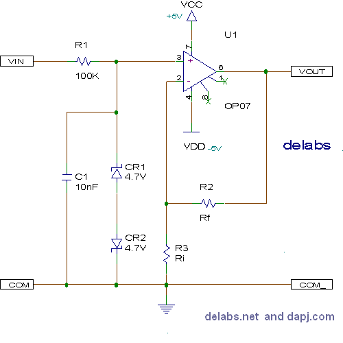 Non-Inverting Amplifier - Op-Amp Circuits