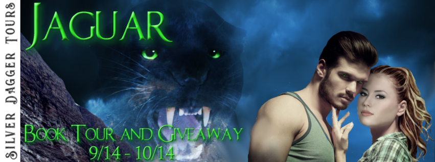 Book Tour Banner for paranormal romance Jaguar by Kayden McLeod with a Book Tour Giveaway