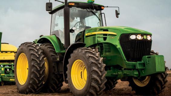 TRACTOR. Los nuevos modelos son de entre 200 y 230 hp (Prensa John Deere)