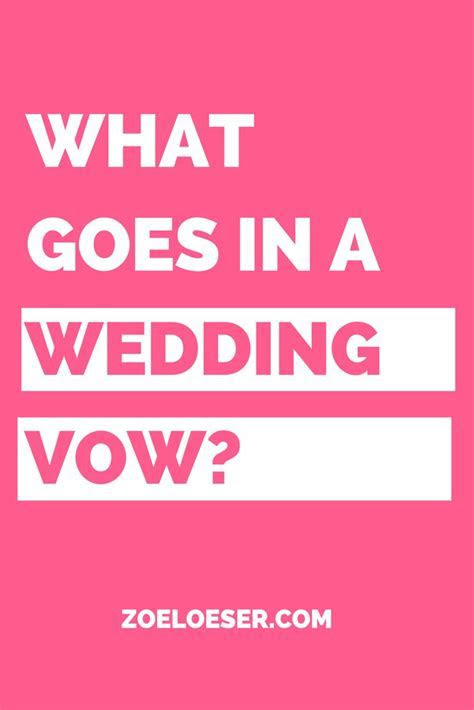 Best 25  Traditional wedding vows ideas on Pinterest